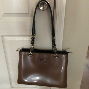Beijo Classic Olive green Colored Purse